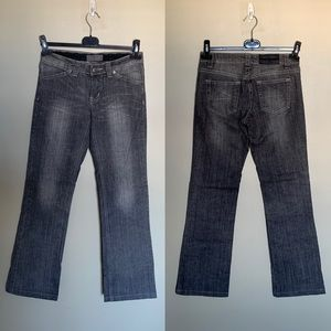 Acne Jeans hex grey straight leg jeans 27